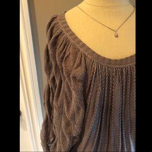 BCBG Brown Sweater